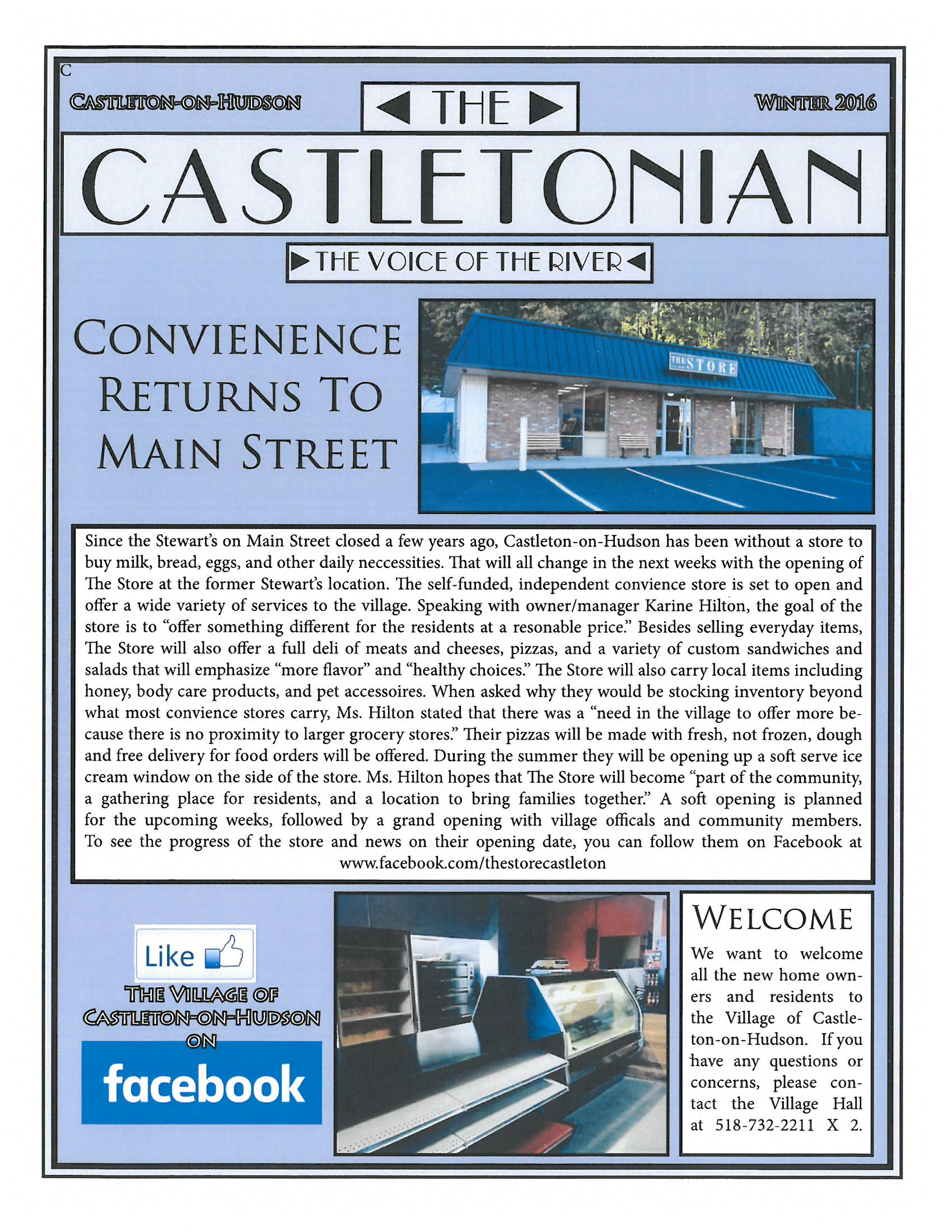 Castletonian Page 1 Winter 2016
