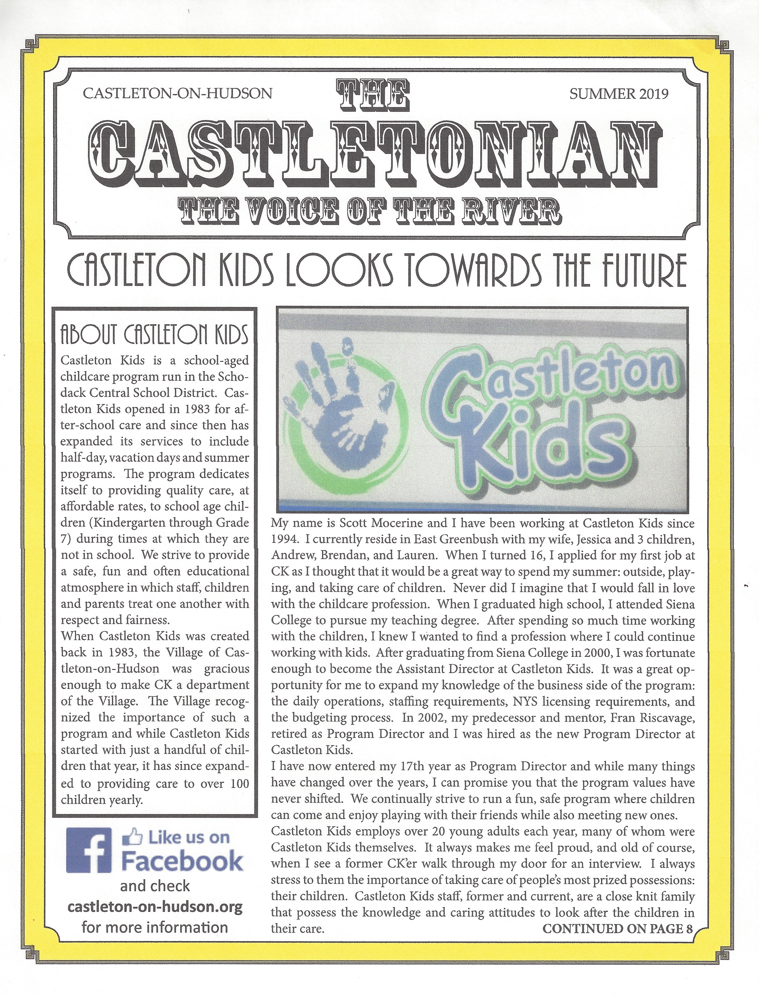 The Castletonian Summer 2019