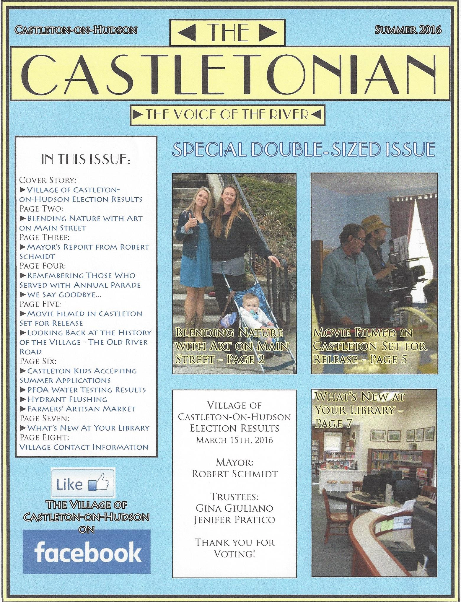 The Castletonian, Summer 2016
