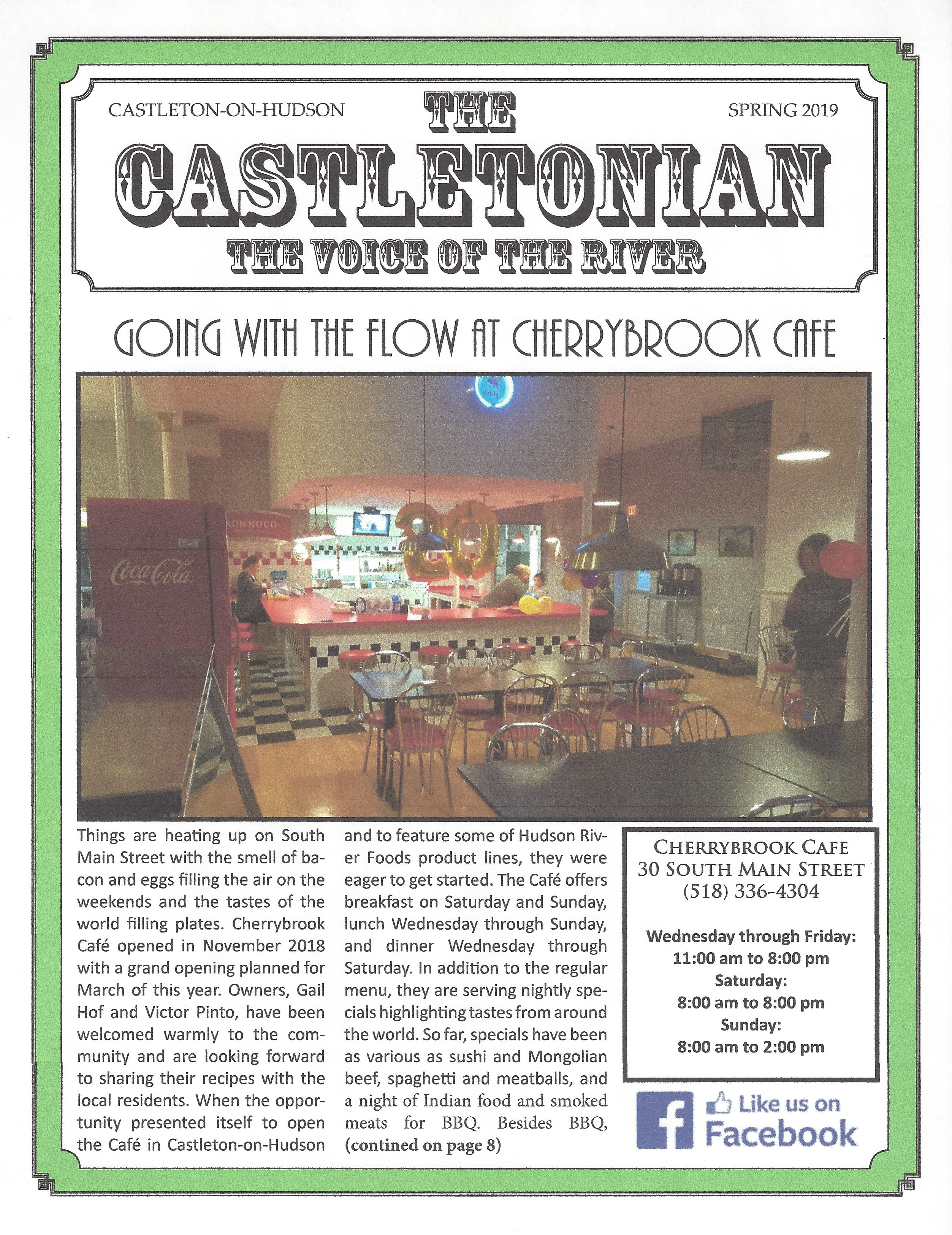 The Castletonian Spring 2019